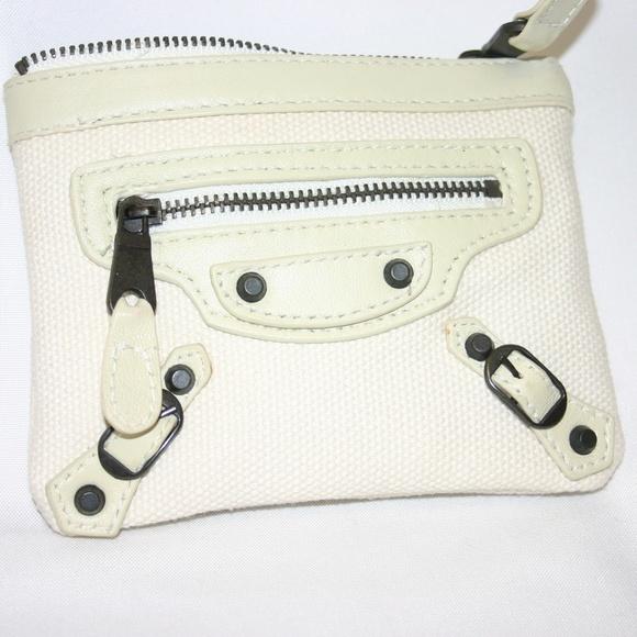 Balenciaga Handbags - Balenciaga Paris Zippered Coin/ID  Wallet